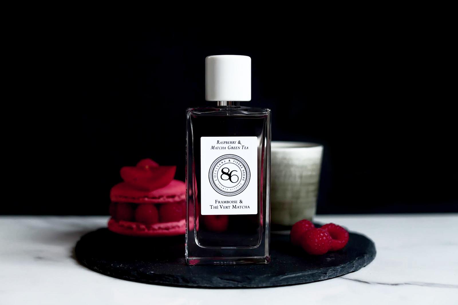 pierre herme l'occitane 86 champs parfums framboise thé vert matcha avis test