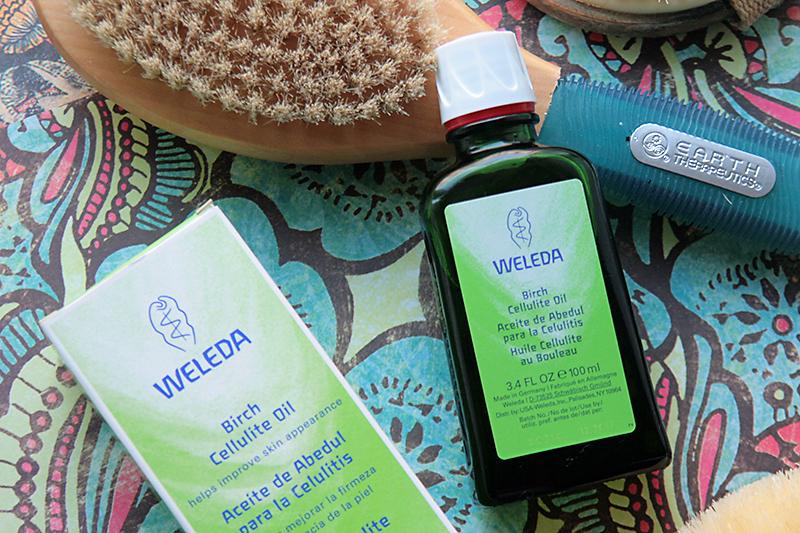 Антицеллюлитное березовое масло Weleda Birch Cellulite Oil