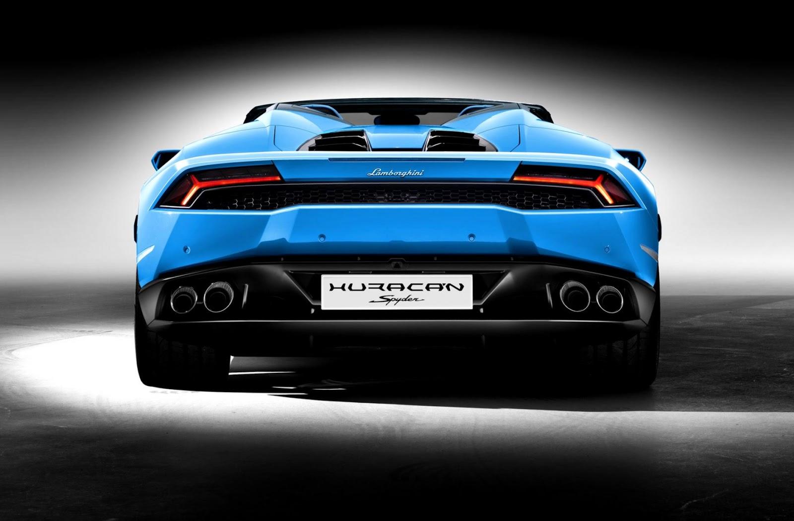 Lamborghini Huracan Rear End Wallpaper Wallpapers New