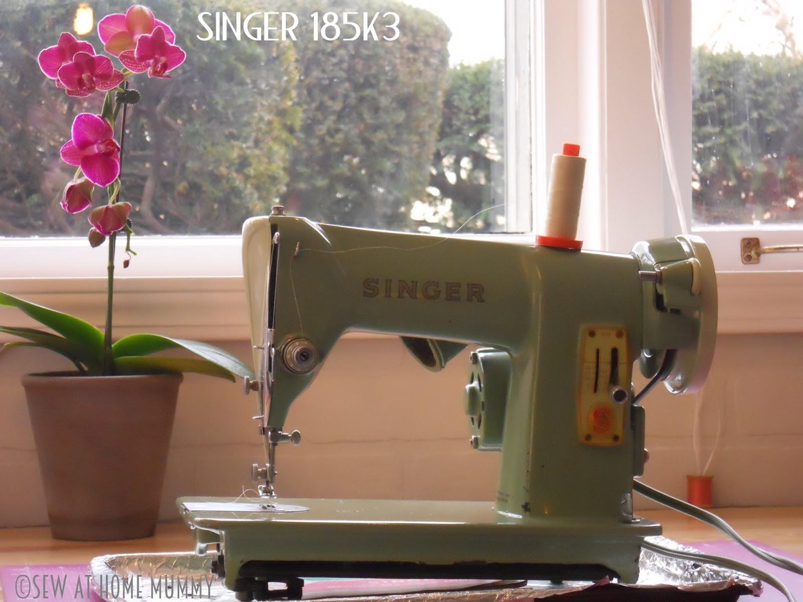 1958 Singer 185K-3