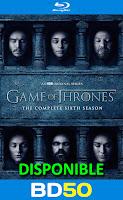 Game of thrones temporada 6 (2016) bluray HD 1080p Español Latino captura
