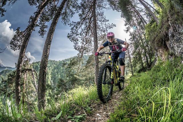 vallo alpino auffahrt oisternig mountainbike mtb