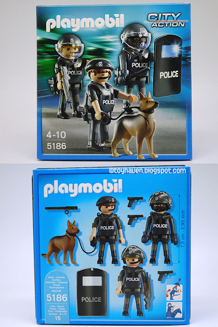 Hedendaags toyhaven: Playmobil 5186 Police Special Forces Unit PI-56