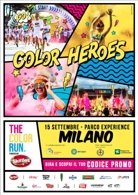 THE COLOR RUN POWERED BY SKITTLES