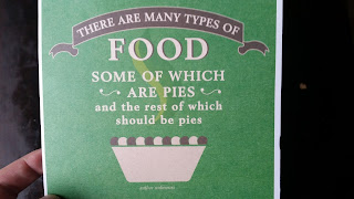 Pie Birthday Card
