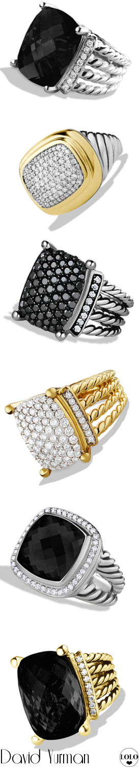 David Yurman Assorted Rings