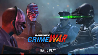 PAYDAY Crime War Multiplayer Apk v180906.1826 Data Coop Shooter for android