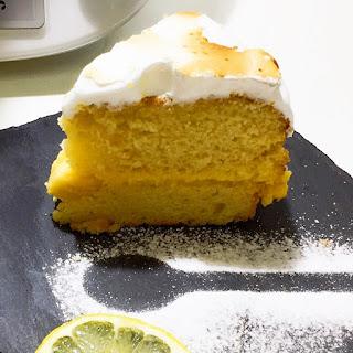 Tarta de Limón con Merengue Suizo