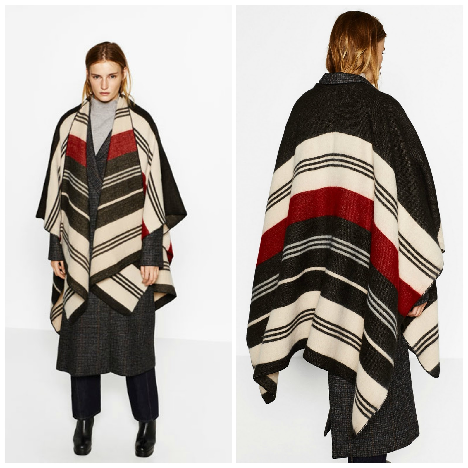 Stylish Ponchos Under $50
