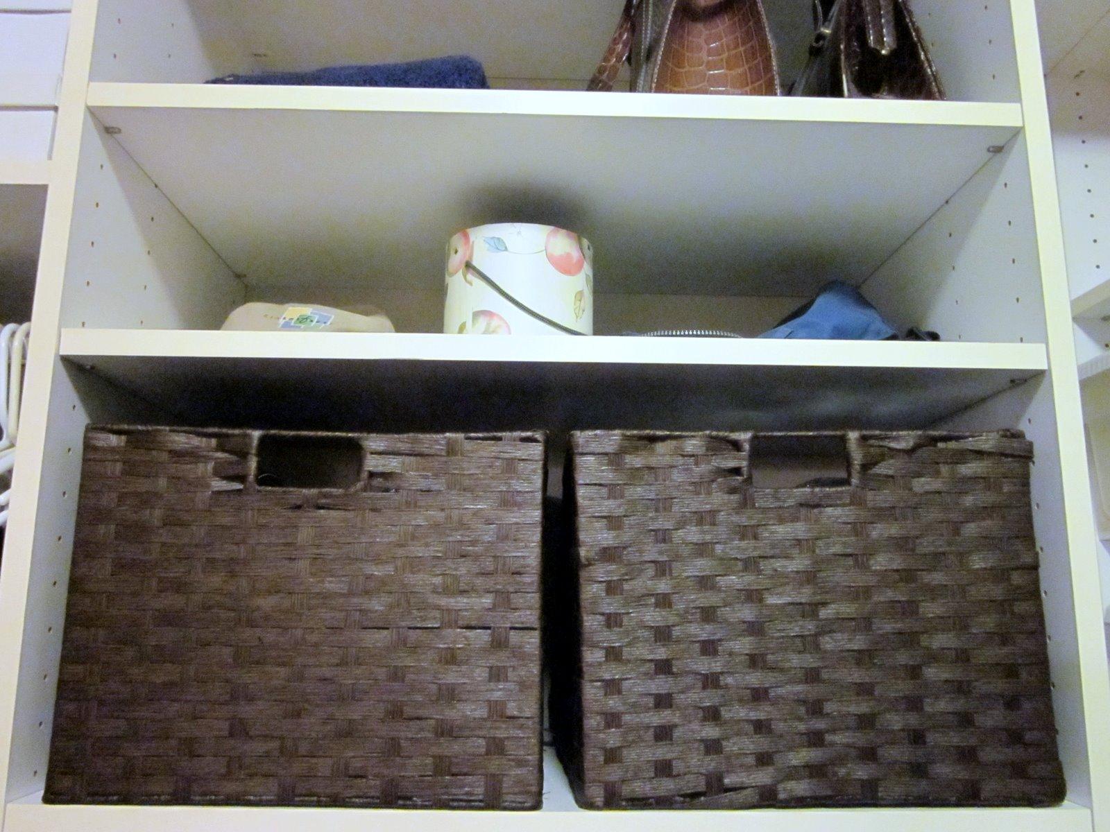 Organized Closet, Diy Design Fanatic, Diy, Organization, Baskets