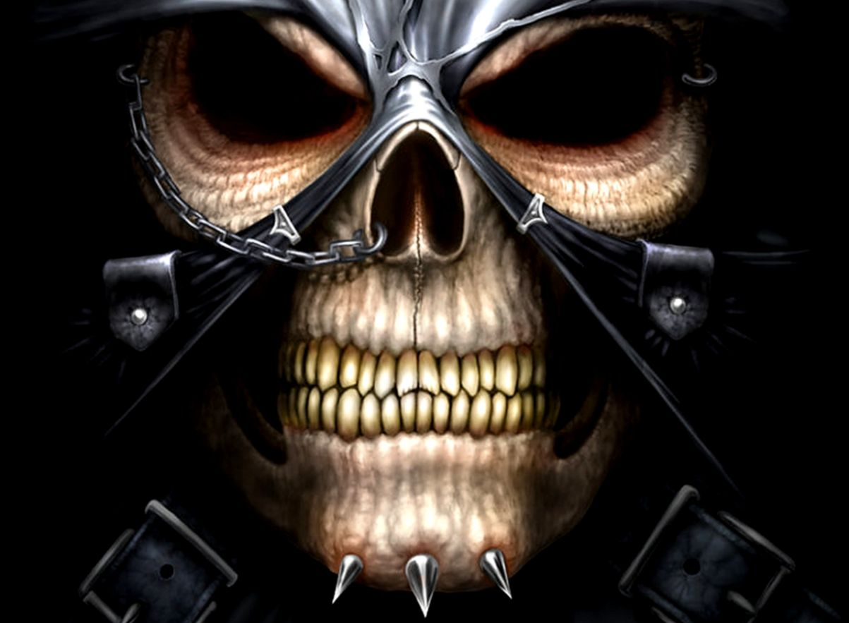 Scary Skull Wallpapers | Wallpapers Desk