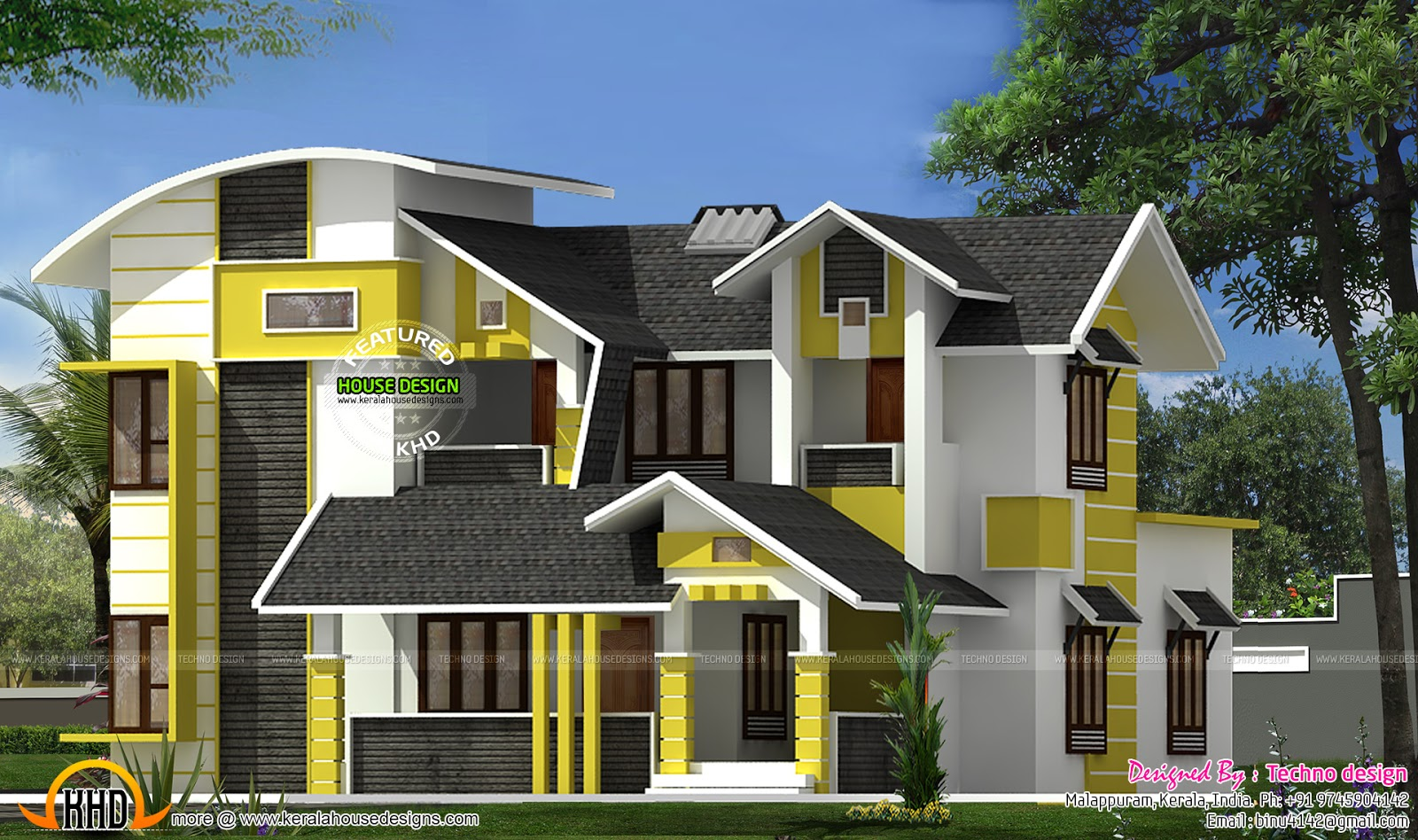 Kerala Home Design And Floor Plans Beautiful Contemporary
