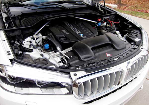 The 2017 BMW X5 Engine