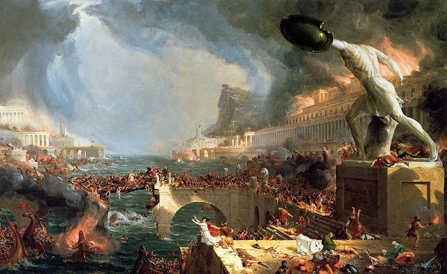 الحضارة الرومانية 12: انهيار الإمبراطورية الرومانية