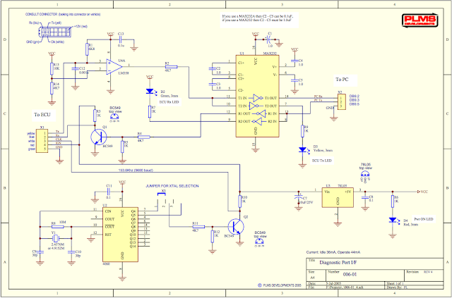 nissan schematic diagram fotos and fun nissan consult 14 pin interface for embedded mcus  nissan consult 14 pin interface