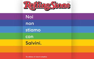 Noi non stiamo con Salvini. Da adesso chi tace è complice