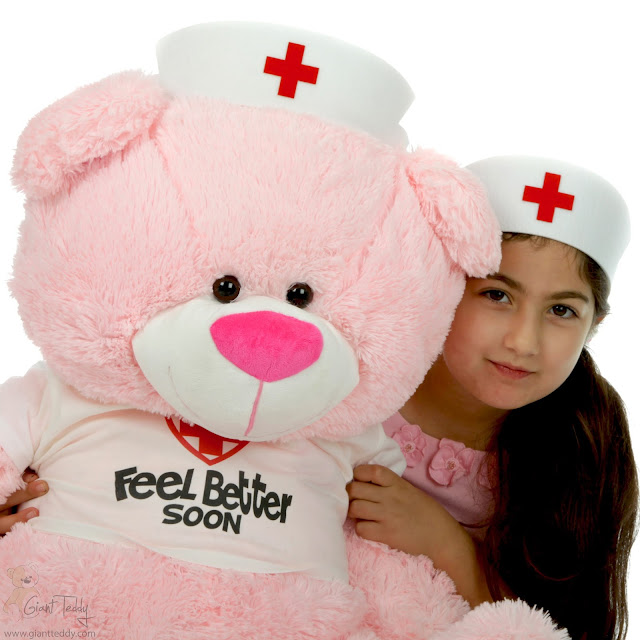 Lulu Shags, Giant Teddy Bear Nurse