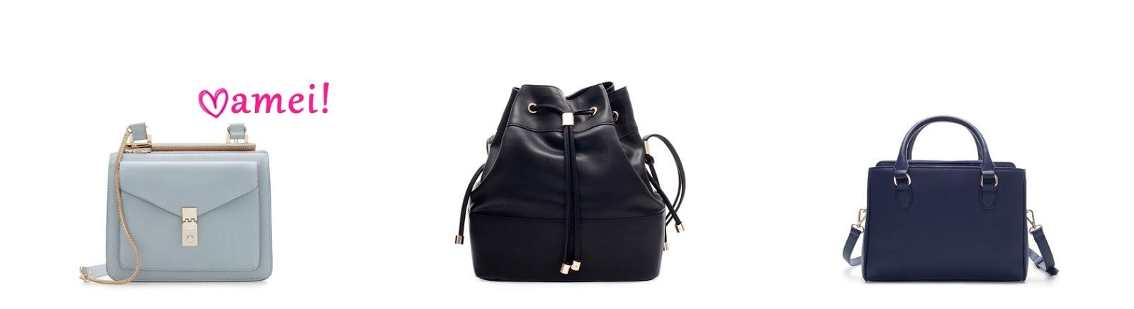 e2ad785c9 Hoje, espiando a coleção nova no site da Zara USA, fiquei babando em  algumas bolsas. Não vejo a hora dessa coleção começar a chegar aqui no  Brasil!