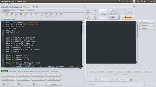 ESPlorer под Ubuntu 16.04