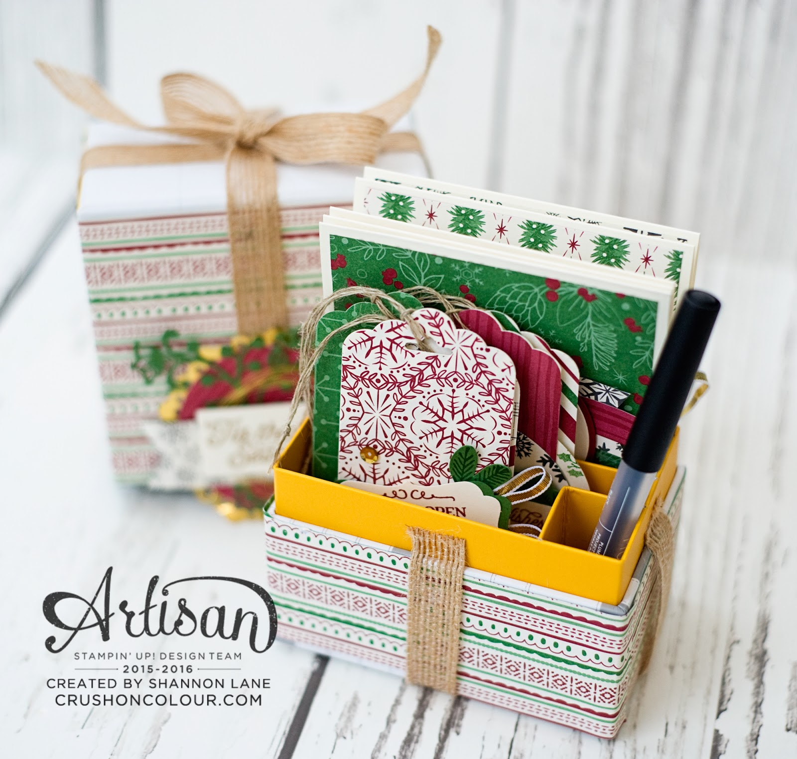 Crush on colour stampin up artisan design team hop