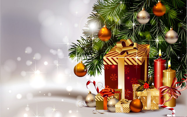 merry christmas animated wallpaper free download