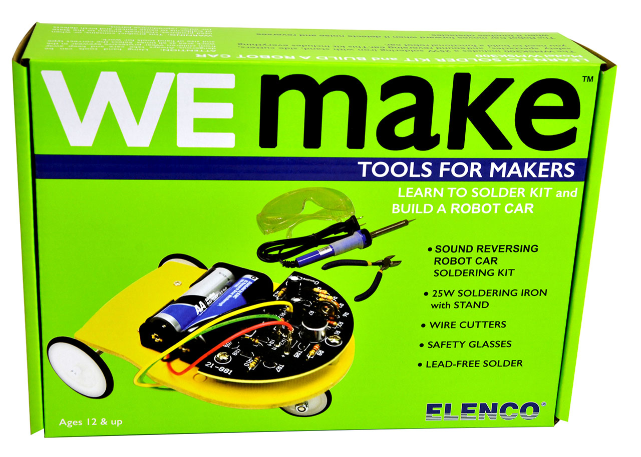 Elenco Expands Snap Circuits With Bricstructures Wemake Kits And Kit These Are Aimed At Older Children Introduce Them To Soldering Designing Making Electronics More Follow Next Week