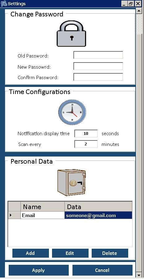 Password Pastebin