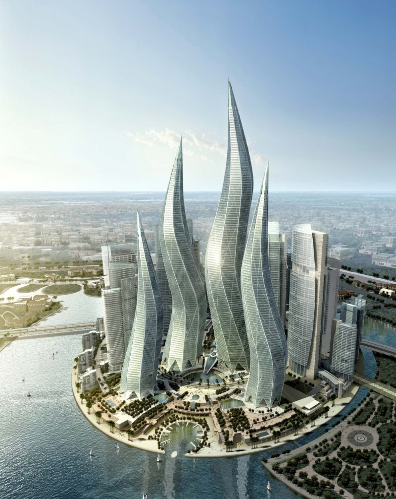 The lagoons towers, Dubai