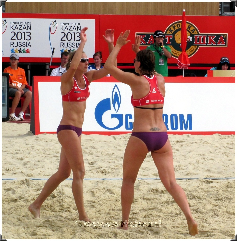 BEACH VOLLEYBALL WIN THE SERVE