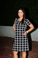Shilpa Chakravarthy in Dark blue short tight dress At Srivalli Movie Pre Release Event ~  Exclusive Celebrities Galleries 008.JPG