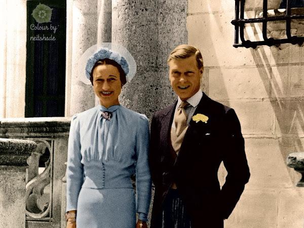 Królewskie Śluby - Edward VIII & Wallis Simpson.