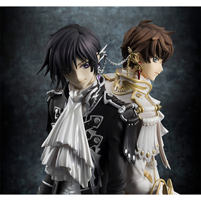 CLAMP works in Lelouch & Suzaku della MegaHouse