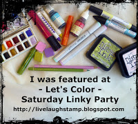 Top 3 at Let's color saturday linky party
