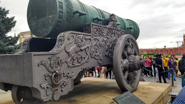 Moscow, Cannon