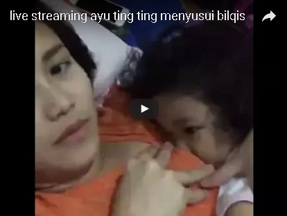 VIDEO Ayu Ting Ting Lagi Menyu-sui! H0T Banget Gan! N0 SENS0R!
