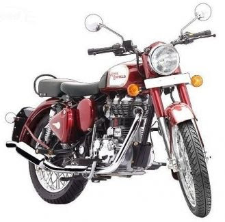Royal Enfield Classic 350 front look image