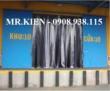 Vách nhựa PVC ngăn bụi bẩn kho chứa hàng Hanjin Logistics