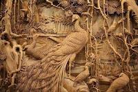 cuadro de madera tallado