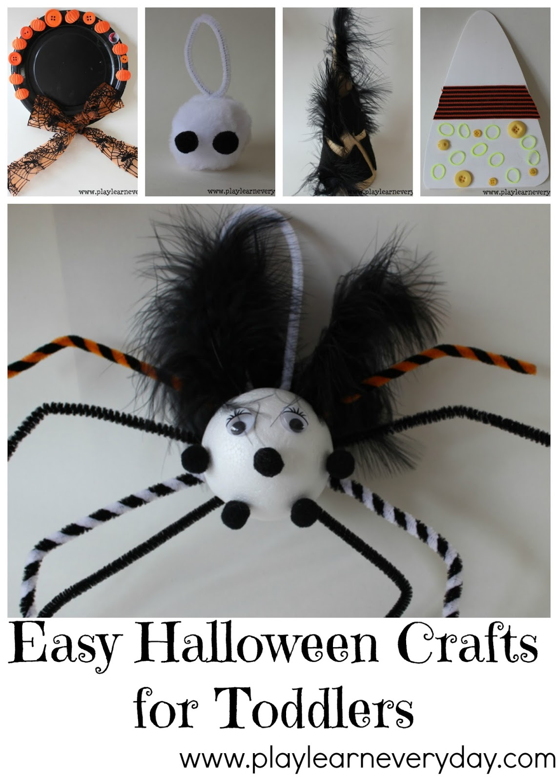 Easy Halloween Crafts For Toddlers Play And Learn Every Day