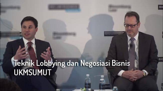 lobby dan negosiasi bisnis