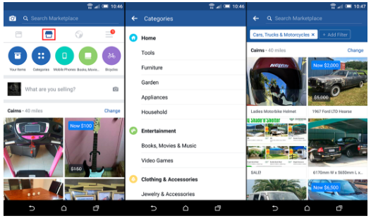 How to Buy and Sell Stuff using the Facebook Marketplace