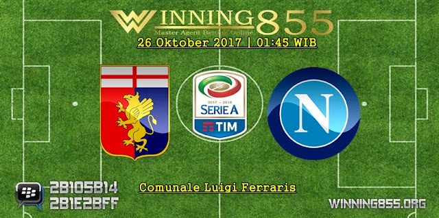 Prediksi Laga Genoa vs Napoli | 26 Oktober 2017
