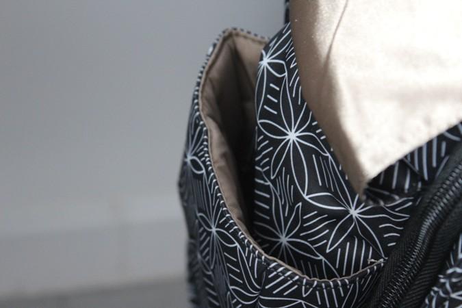 Bolsos maternales con bolsillos isotérmicos - jujube