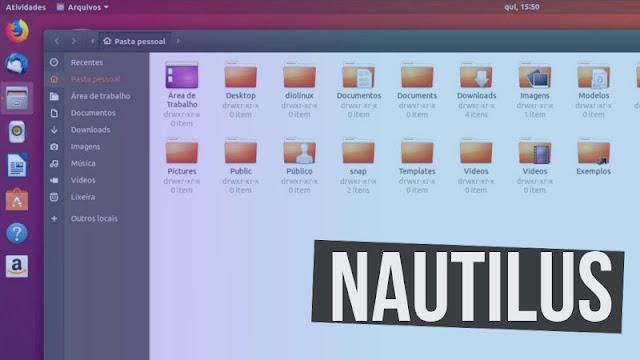 Nautilus GNOME
