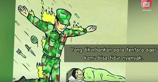 Ikhlas dalam Hening : Prabowo