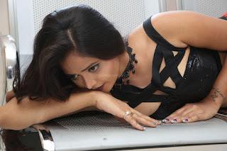 Shriya Vyas in a Tight Backless Sleeveless Crop top and Skirt 5.JPG