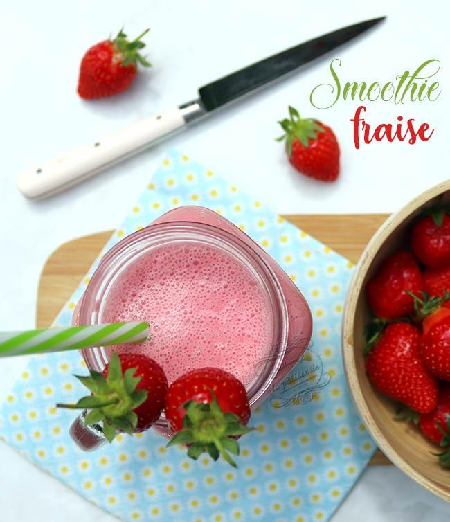 smoothie fraise facile