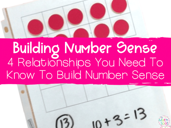 4 Things You Need to Know to Develop Number Sense