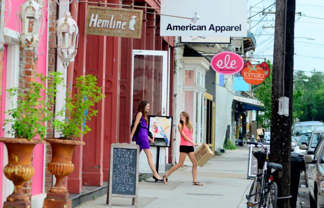 Activities and Attractions in New Orleans, Louisiana | Shopping in Magazine Street