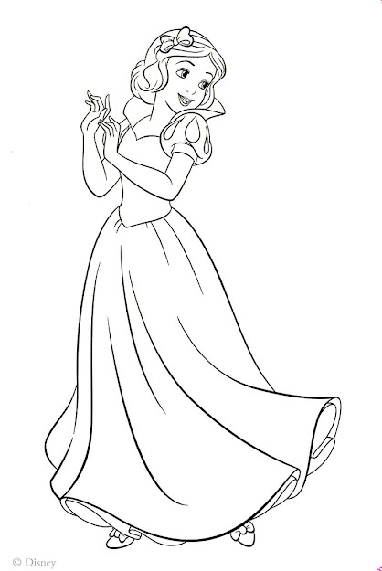 Snow White Coloring Pages  Googlesgning